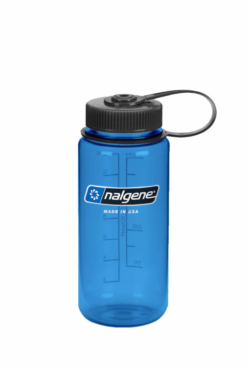 16oz Wide Mouth Bottle Blue