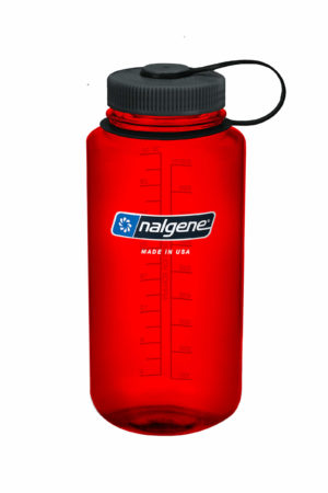 32oz Wide Mouth Bottle Red
