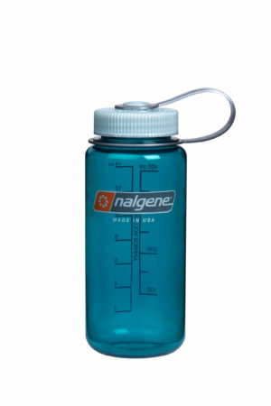 16oz Wide Mouth Bottle Trout Green