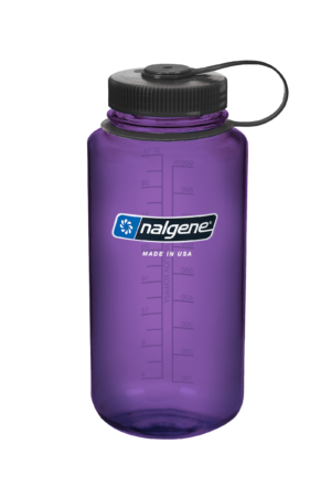 32oz Wide Mouth Purple Water Bottle