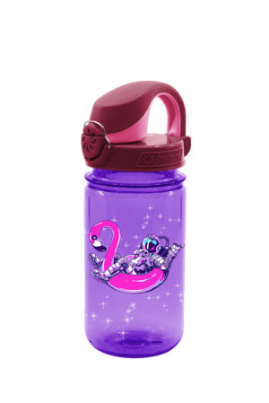 12oz Kids On-The-Fly Lock-Top Bottle Floating Astronaut