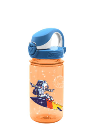 12 Oz On the Fly Kids Bottle Surfing Astronaut