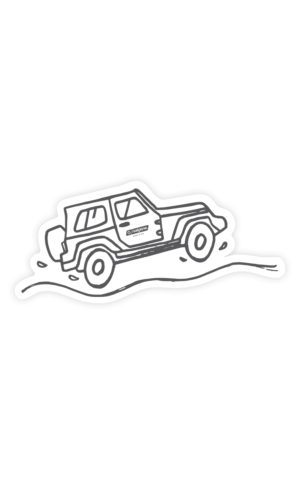 Nalgene Jeep Sticker